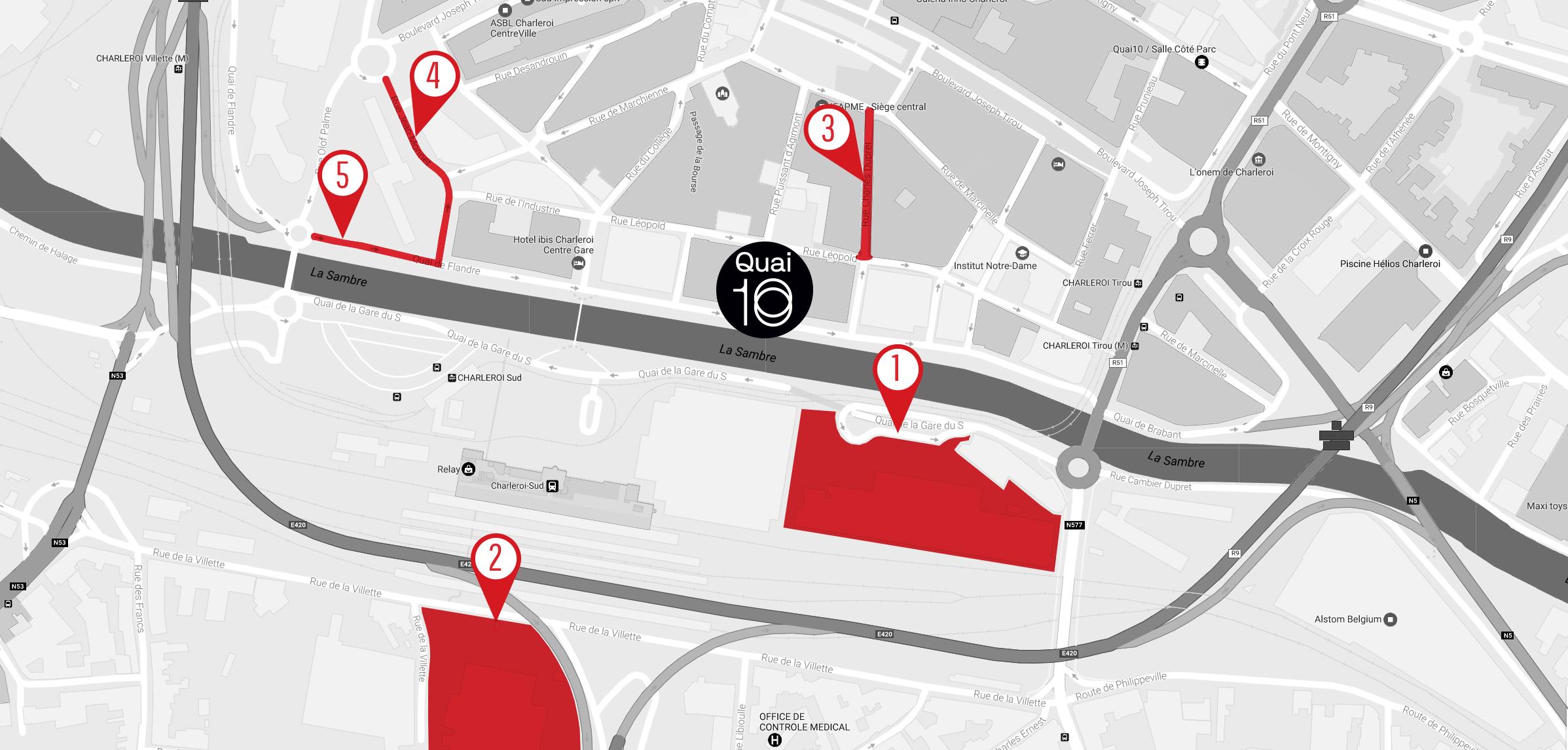 Quai10 - Parking